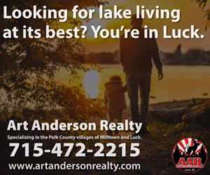 Art Anderson Realty-Small Town Lake Living in Luck, Wisconsin