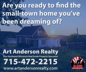 Art Anderson Realty-Small Town Living in Milltown, Wisconsin