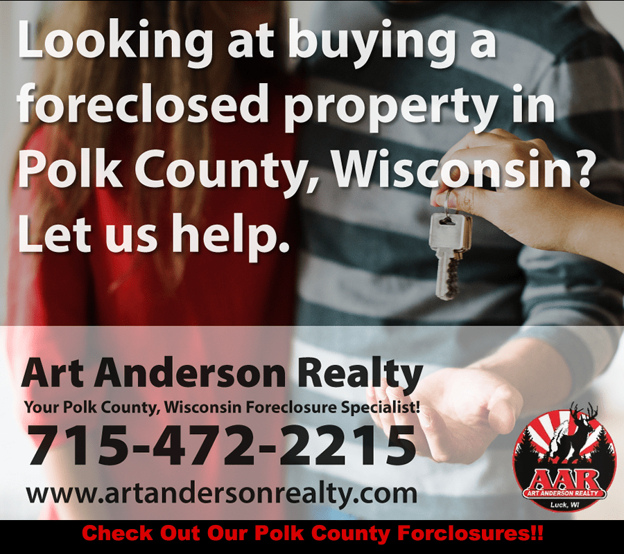 Foreclosures in Polk County, WI